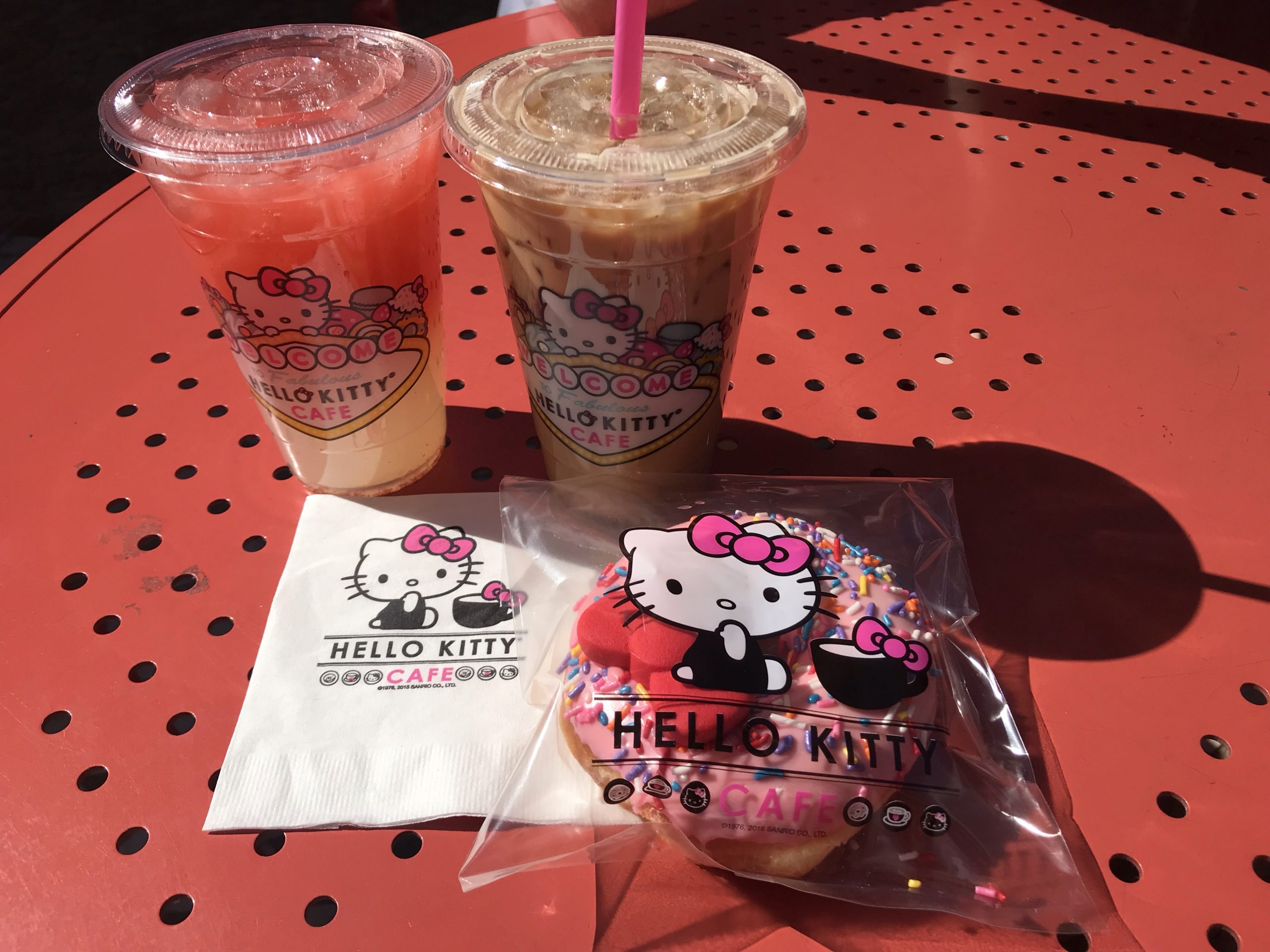 Where to eat in Las Vegas – Hello Kitty Cafe