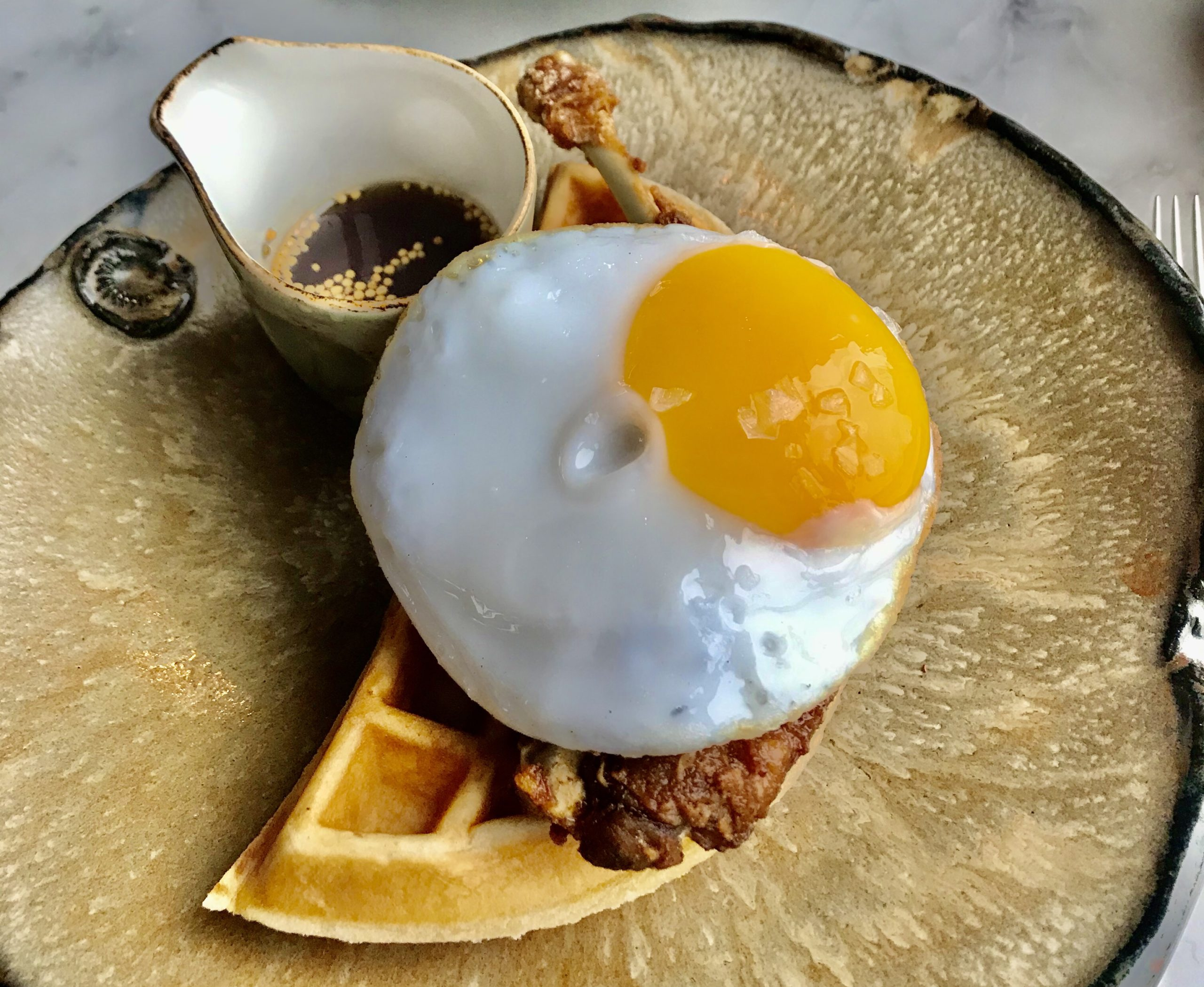 Brunch at Duck & Waffle